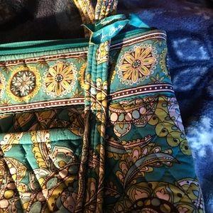 Vera Bradley Bags - Peacock daisy dot Paisley by Vera Bradley